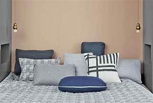 Chambre Parentale Cosy : trendy coussins quilt en laine et polyamide x cm euros ~ Melissatoandfro.com Idées de Décoration