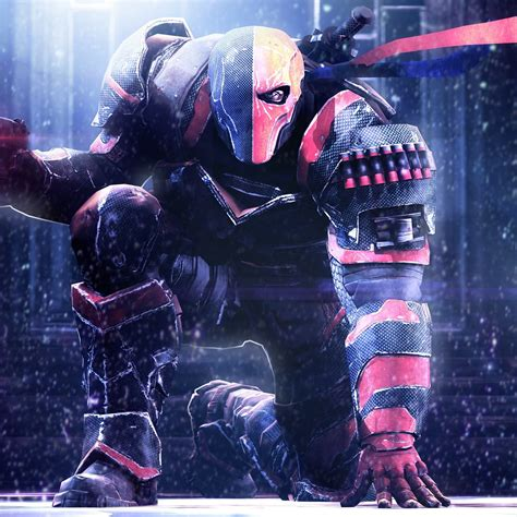 wallpaper deathstroke dc comics hd  movies