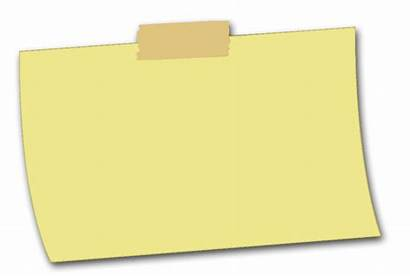 Sticky Note Yellow Ntes Notes Transparent Graphic