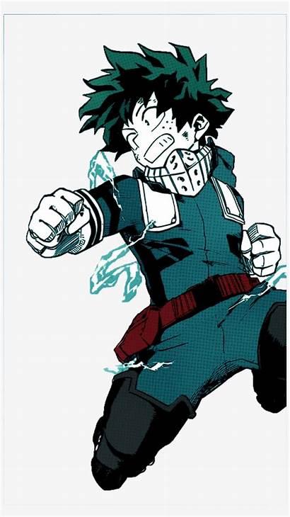 Deku Academia Hero Izuku Midoriya Manga Kid