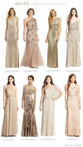 mismatched neutral bridesmaid dresses With bridesmaid wedding dresses