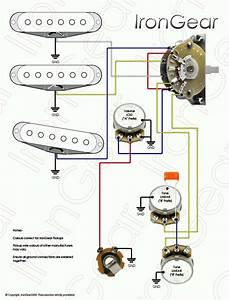 5 Way Guitar Wiring Diagram