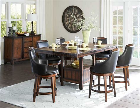 bayshore  xl counter height dining table  homelegance