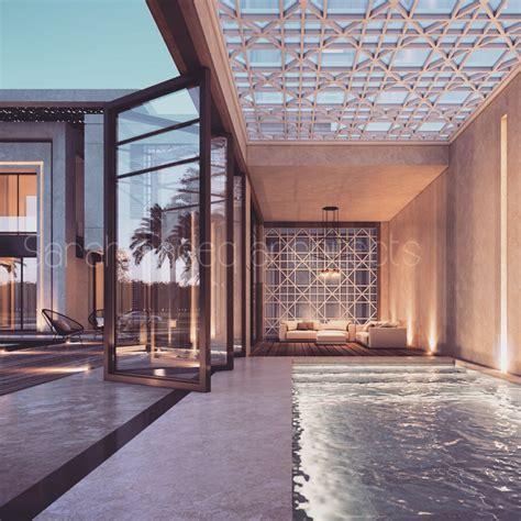 plot private villa kuwait sarah sadeq architects