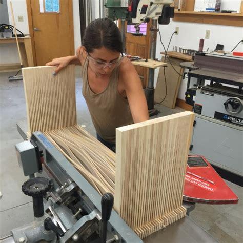 women  woodworking makers row blog