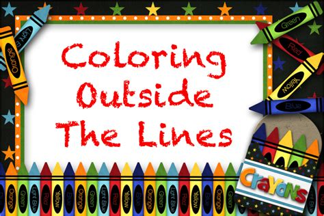 coloring   lines march