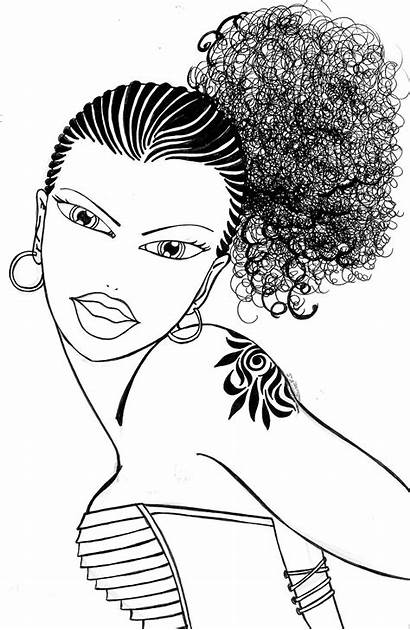 Coloring Afro African American Adult Books Romantic
