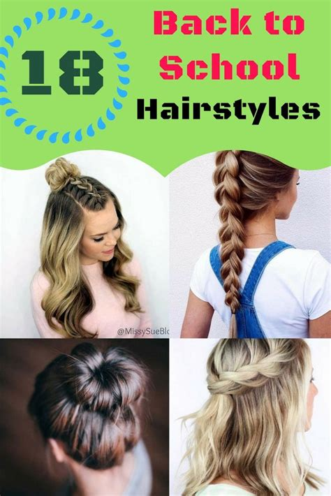 Back To School Hairstyles For by Best 25 Back To School Hairstyles Ideas On