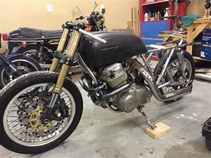 Cb750 Turbo W   Gsxr Front And Chrome Frame