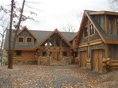exterior log homes canada house