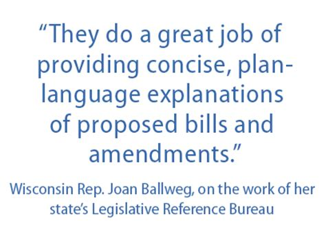wisconsin is the nation s pioneer in providing nonpartisan legislative service