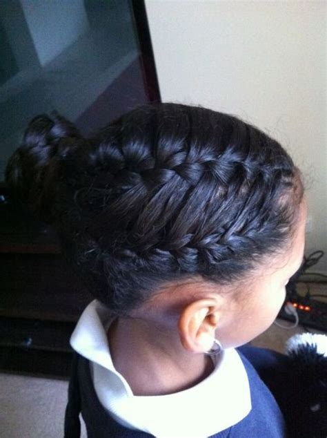 3 charming hairstyles with french braids for black women