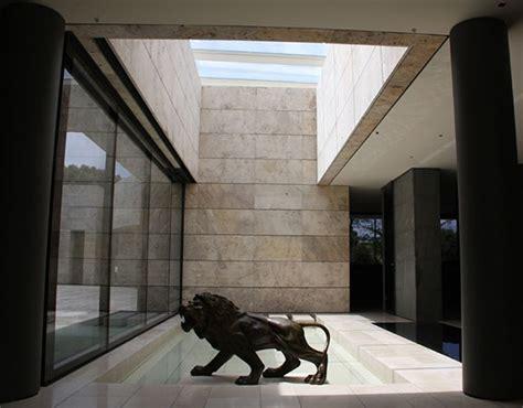 modern zen house design  madrid spain modern house
