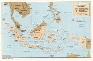 Indonesia: Administrative Divisions (Political) U.S. Central ... Indonesia