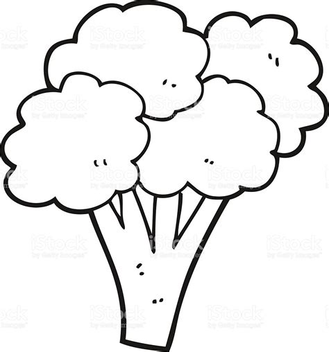 Coloring Clip by Broccoli Black And White Clipart 20 Free Cliparts