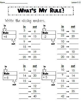 grade editable everyday math worksheets units 1 5