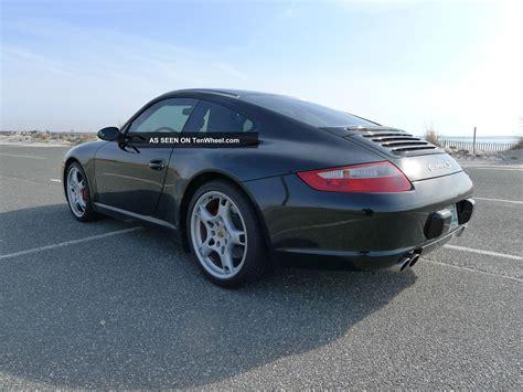 2005 Porsche 911 Carrera S Coupe 997 Black Crono Sport Pkg