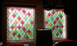 Orient Teppich Selbst Reinigen : buntglasfolie sichtschutzfolie bedruckt die ~ Lizthompson.info Haus und Dekorationen