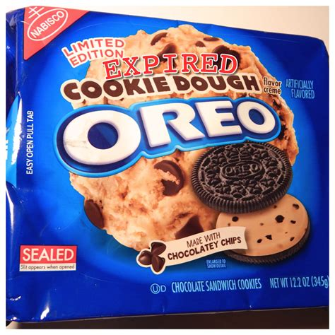 [Review] Nabisco Limited Edition Expired Cookie Dough Oreo ...