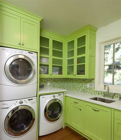 How To Brighten Your Dark Laundry Room