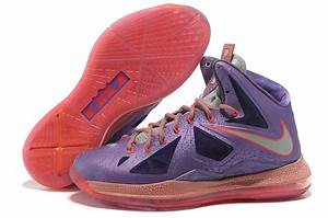 Nike LeBron X 10 All-Star Area 72 Laser Purple | New ...