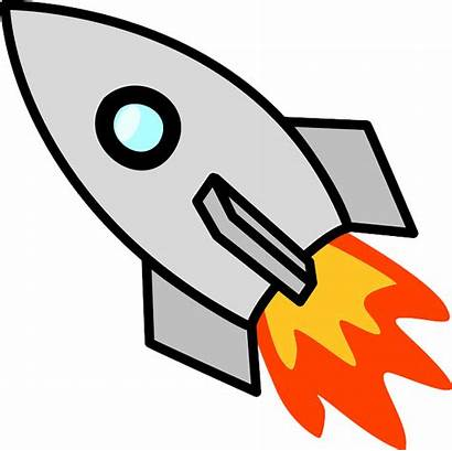 Rocket Ship Spaceship Vector Clip Transparent Clipart