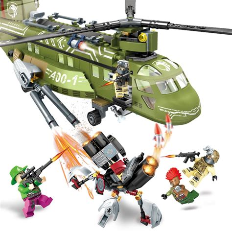 Online Buy Wholesale Lego Military Helicopters From China
