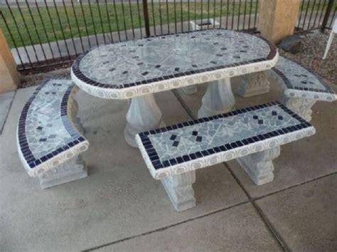 precast concrete picnic tables concrete picnic tables and benches home ideas