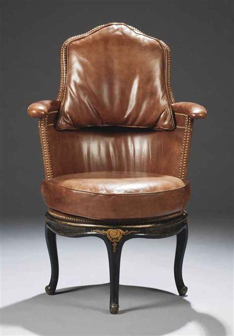 fauteuil de bureau louis philippe fauteuil de bureau de style louis xv comprenant des