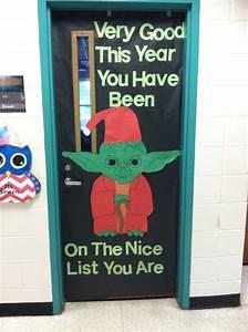 Star, Wars, Christmas, Yoda, Classroom, Door