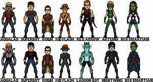 Young Justice INVASION by MicroTraceour on DeviantArt