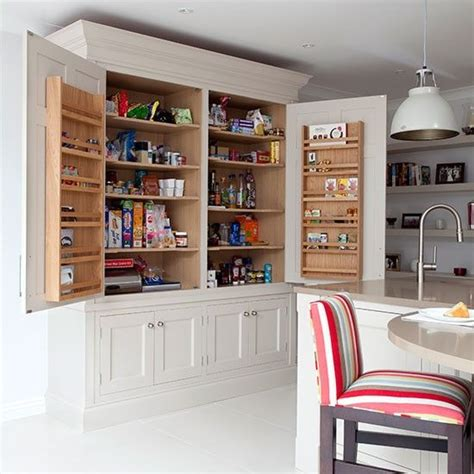Kitchen Cupboards Uk by White Kitchen With Curved Wood Island Kitchen Decorating