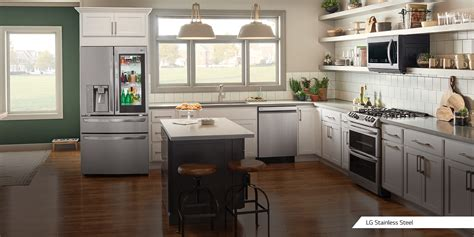premier kitchen appliance finishes lg usa