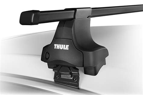 thule roof racks thule square bar base rack system complete roof rack