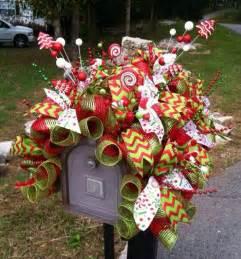 christmas mailbox decoration mailboxes pinterest