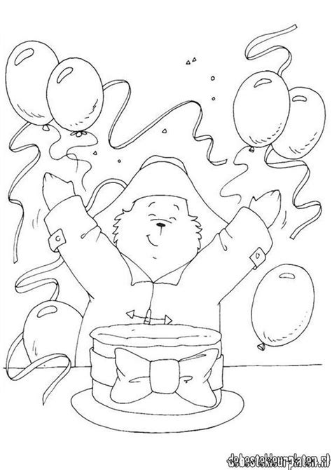 paddington printable coloring pages