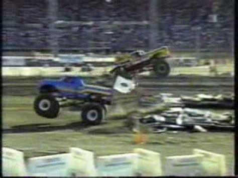 monster truck show indianapolis 1991 penda monster trucks indianapolis in show 2 part