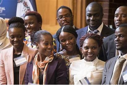 African Young Leaders Virginia Officials Leadership Ryan