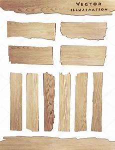Planche De Bois Blanc : vieille planche de bois isol sur fond blanc image vectorielle koydesign 70353995 ~ Voncanada.com Idées de Décoration