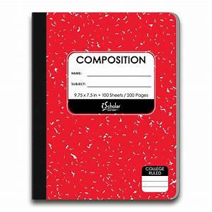 4 Pack Color Composition Notebook College Ruled 18201  U2013 Ischolar Ny