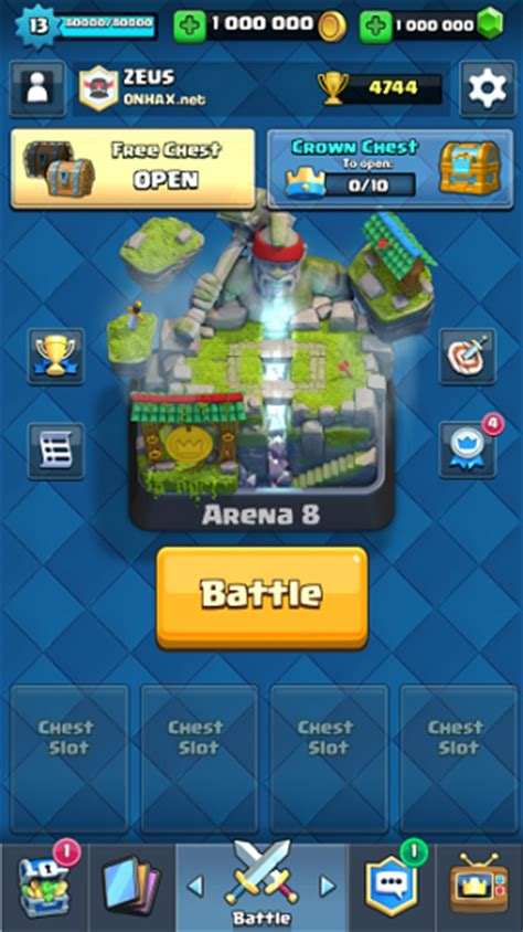 clash royale mod apk 1 7 0 unlimited money androxfy
