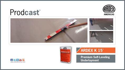 Ardex K15 Floor Leveler by Ardex K15 Floor Leveler Floor Matttroy