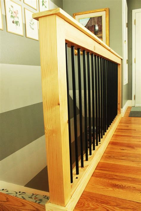 Stair Banister Pictures by Diy Stair Handrail With Industrial Pipes And Wood