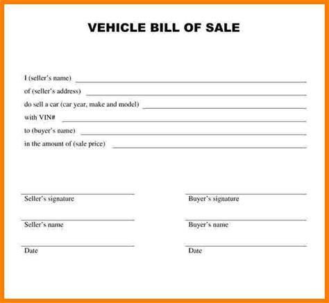 bill of sale template alabama 8 bill of sale alabama car sle travel bill