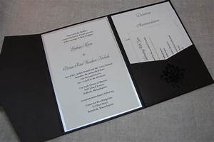 Blank pocket wedding invitations uk mini bridal for Blank pocket wedding invitations uk