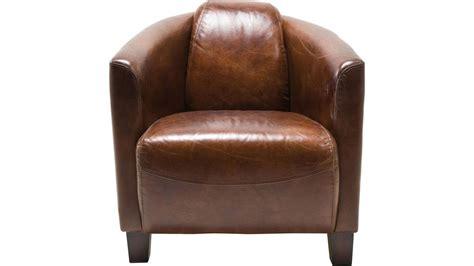 achetez votre fauteuil club cuir marron cigare lounge pas
