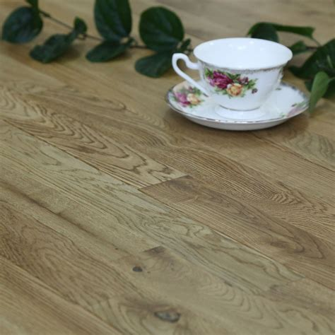 Colours Barcarolle Natural Solid wood flooring 1.26 m²