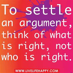 To settle an ar... Condor Arguments Quotes