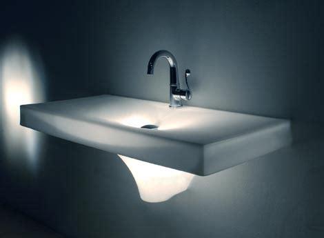 bathroom sink glows in dark freshome com