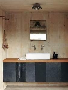 Holz Farbe Anthrazit : waschtisch holzplatte aufsatzwaschbecken anthrazit farbe schrankfronten badezimmer pinterest ~ Orissabook.com Haus und Dekorationen